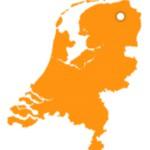 Gebied op de kaart van NL (Medium)