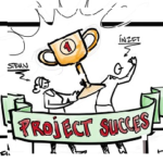 Projectsucces. High Five! De weg er naartoe.